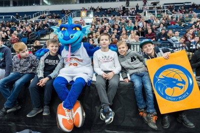 The Dragons breathe fire in Vilnius