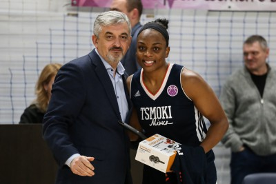 Imagine Danielle McCray: Tsmoki Minsk win the battle of the Undefeated