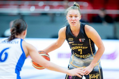 Meškonyte on fire, Kibirkštis enter win column
