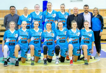 Šarauskaite goes for double-double, Kibirkštis MRU earn first win