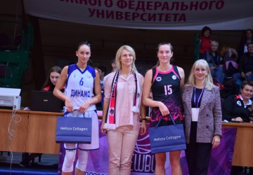 Dynamo Novosibirsk fly high, improve to 3-0