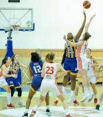 Fluker set rules in the paint, Young Angels enter playoff zone